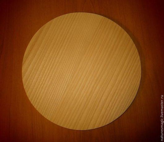 Заготовка круга из дерева. Материал - ясень.