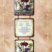 """Картины и панно ручной работы. Ярмарка Мастеров - ручная работа Триптих"""" Цветочное ассорти"""". 3 вида. Handmade."""