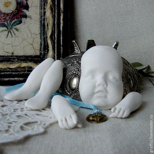Куклы и игрушки ручной работы. Ярмарка Мастеров - ручная работа. Купить Набор маленький гном (с выкройкой). Handmade. Белый