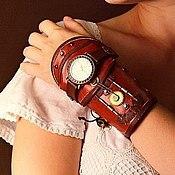 Украшения ручной работы. Ярмарка Мастеров - ручная работа Наручные стимпанк-часы. Handmade.
