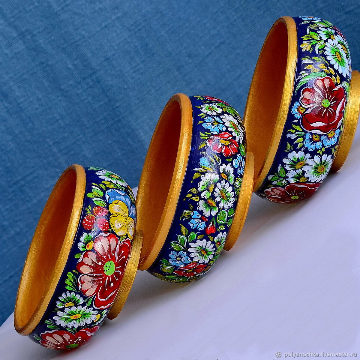 Набор из 3-х плошечек-конфетниц, Конфетницы, Москва,  Фото №1