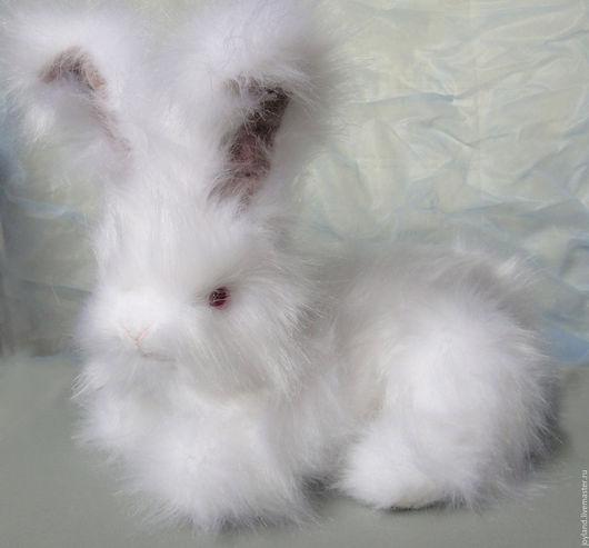Куклы и игрушки ручной работы. Ярмарка Мастеров - ручная работа. Купить Ангорский карликовый кролик Флоренс Флёр де Лун. Angora dwarf rabbit. Handmade.
