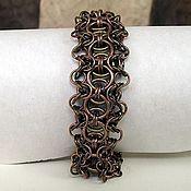 "Украшения handmade. Livemaster - original item Metal bracelet ""Philialid"". Handmade."