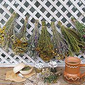 Для дома и интерьера ручной работы. Ярмарка Мастеров - ручная работа Подвеска из луговых трав в стиле кантри, прованс. Handmade.