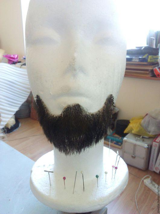 Аксессуары ручной работы. Ярмарка Мастеров - ручная работа. Купить Борода малая. Handmade. Комбинированный, образ, грим, искусственный волос