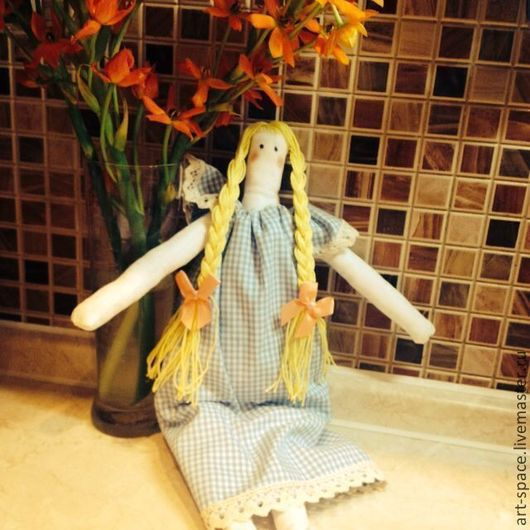 Куклы Тильды ручной работы. Ярмарка Мастеров - ручная работа. Купить Кукла Тильда. Handmade. Кукла ручной работы