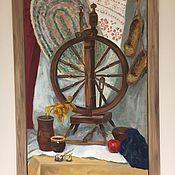 Картины и панно handmade. Livemaster - original item Spinning wheel. Handmade.