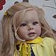 Куклы-младенцы и reborn ручной работы. Ярмарка Мастеров - ручная работа. Купить Эмилия!. Handmade. Желтый, винил