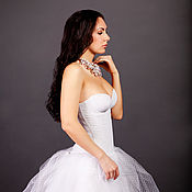 Свадебный салон handmade. Livemaster - original item Wedding dress