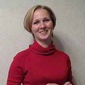 Одежда ручной работы. Ярмарка Мастеров - ручная работа свитер из кашемира с шелком. Handmade.
