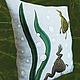 Текстиль, ковры ручной работы. Подушка со шпорцевыми лягушками. Эмина Ядовитая (lamart). Интернет-магазин Ярмарка Мастеров. Лягушки