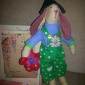 Куклы и игрушки ручной работы. Ярмарка Мастеров - ручная работа Тильдозаяц. Handmade.