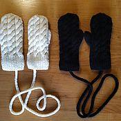 Аксессуары handmade. Livemaster - original item Mittens warm. Handmade.