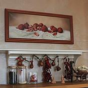 """Картины и панно ручной работы. Ярмарка Мастеров - ручная работа """"Гранаты"""". Handmade."""