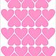 Детская ручной работы. Виниловые наклейки (стикеры) на стену - СЕРДЕЧКИ. Александра (moodstudio). Ярмарка Мастеров. Наклейки на стену