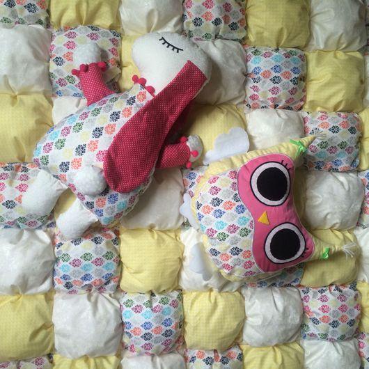 Пледы и одеяла ручной работы. Ярмарка Мастеров - ручная работа. Купить Детское одеяло в кроватку. Handmade. Одеялко, одеяло пэчворк