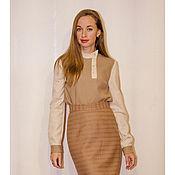 Одежда ручной работы. Ярмарка Мастеров - ручная работа Шерстяная блузка. Handmade.