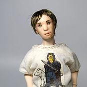 Куклы и игрушки ручной работы. Ярмарка Мастеров - ручная работа Шарнирная кукла Илья масштаб 1:12. Handmade.