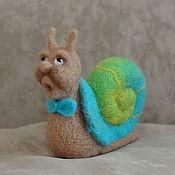 """Куклы и игрушки ручной работы. Ярмарка Мастеров - ручная работа игрушка улитка """"поющий Улитус"""". Handmade."""
