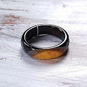 Кольца ручной работы. Ярмарка Мастеров - ручная работа Кольцо из агата. Handmade.