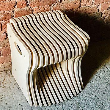 Мебель ручной работы. Ярмарка Мастеров - ручная работа Параметрический табурет. Handmade.