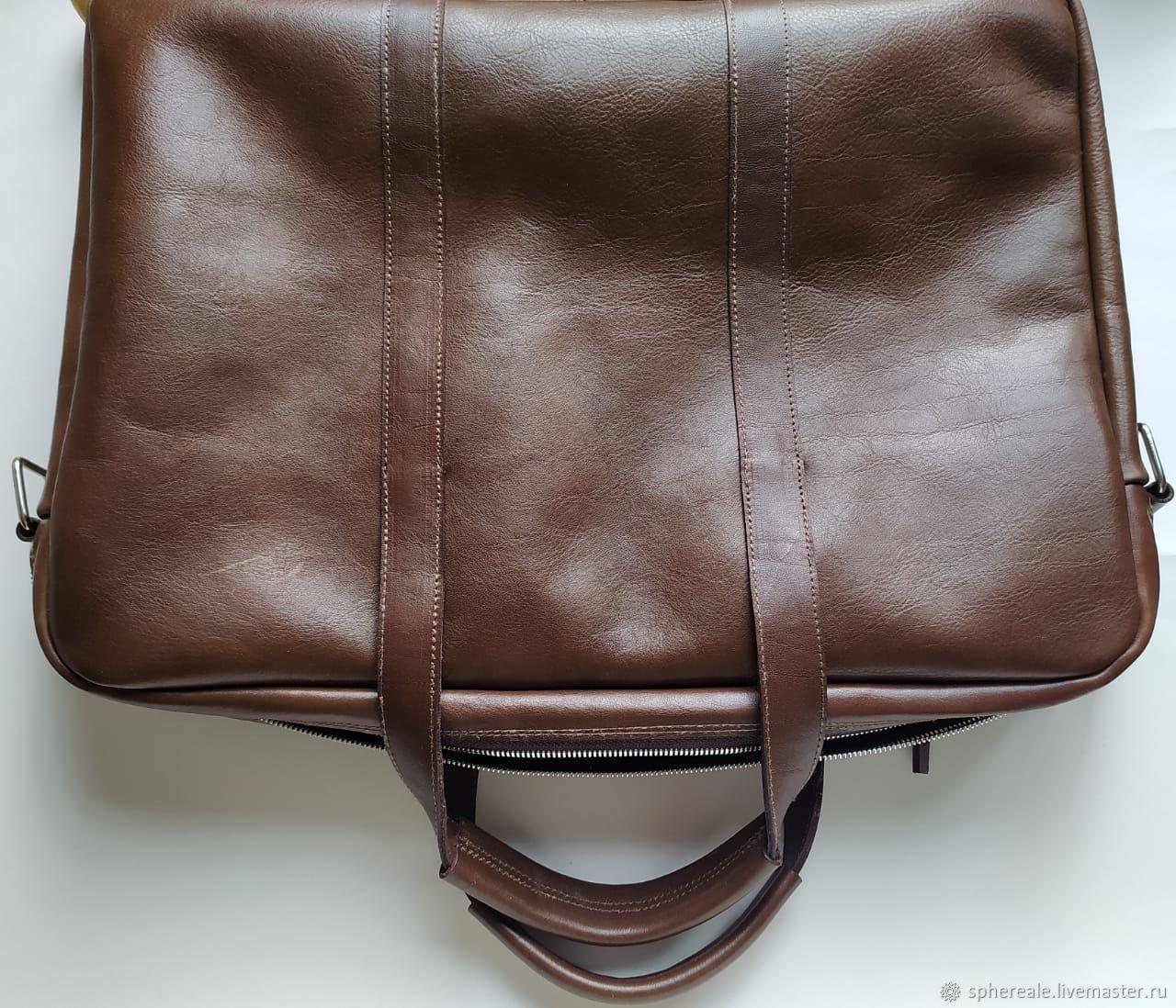 Сумка для ноутбука 17 дюймов, Мужская сумка, Москва,  Фото №1