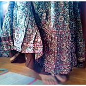 Одежда ручной работы. Ярмарка Мастеров - ручная работа Коричневая юбка. Handmade.