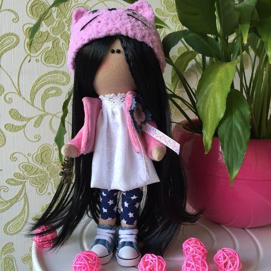 Куклы тыквоголовки ручной работы. Ярмарка Мастеров - ручная работа. Купить Текстильная кукла. Handmade. Текстильная кукла, ручное вязание