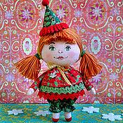 Подарки к праздникам handmade. Livemaster - original item Textile doll. Handmade.