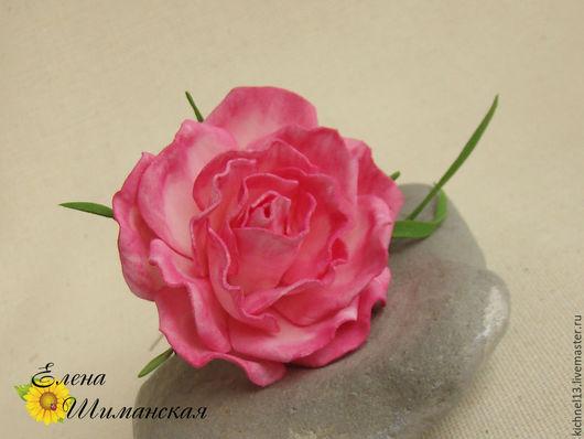 Заколки ручной работы. Ярмарка Мастеров - ручная работа. Купить Шпильки для волос с розами из фоамирана. Handmade. Розовый, украшение для невесты