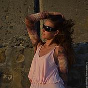 Одежда ручной работы. Ярмарка Мастеров - ручная работа Болеро вязаное крючком  Песочные мечты. Handmade.