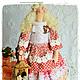 Куклы Тильды ручной работы. Ярмарка Мастеров - ручная работа. Купить Прекрасная Флоретта интерьерная кукла тильда. Handmade.