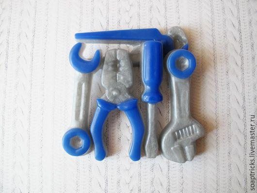 Подарочные наборы косметики ручной работы. Ярмарка Мастеров - ручная работа. Купить Мыльный набор Инструменты. Handmade. Инструменты