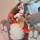 Игрушки животные, ручной работы. Заказать Обаятельный Мартин. riki(Мартынова Юлия). Ярмарка Мастеров. Обаятельный, зима, тонировка пастелью