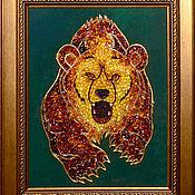 Картины и панно handmade. Livemaster - original item Bear. Hunting. Handmade.