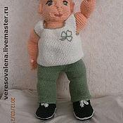 Куклы и игрушки ручной работы. Ярмарка Мастеров - ручная работа кукла вязаная  крючком. ПРодана. Handmade.