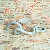 Для дома и интерьера handmade. Livemaster - original item Forged candlestick