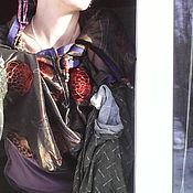 Одежда ручной работы. Ярмарка Мастеров - ручная работа то ли платье - то ли кофта ДУХОВНЫЙ ДЖАZZ. Handmade.