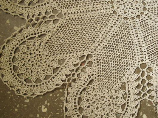 Текстиль, ковры ручной работы. Ярмарка Мастеров - ручная работа. Купить Столешница льняная. Handmade. Серый, скатерть льняная