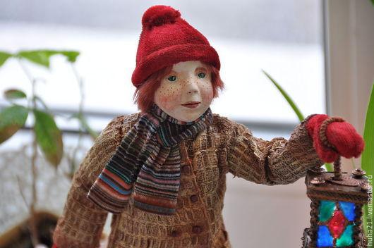 """Коллекционные куклы ручной работы. Ярмарка Мастеров - ручная работа. Купить Кукла """"Волшебный фонарь"""". Handmade. Оригинальный подарок"""