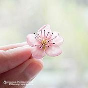 """Украшения ручной работы. Ярмарка Мастеров - ручная работа Кольцо """"Цветок персика"""". Handmade."""