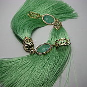 Украшения handmade. Livemaster - original item Earrings tassels long