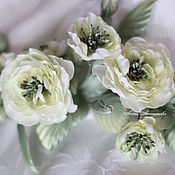 Свадебный салон ручной работы. Ярмарка Мастеров - ручная работа Свадебное украшение Ветка диких роз. Handmade.