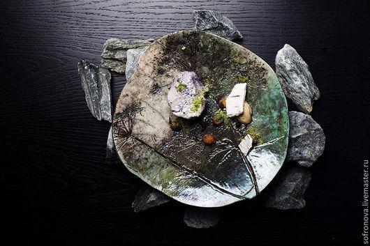 Декоративная посуда ручной работы. Ярмарка Мастеров - ручная работа. Купить Блюда для ценителей. Handmade. Керамика, декоративная тарелка