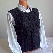 Одежда handmade. Livemaster - original item knitted vest