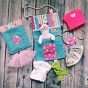 Игровые наборы ручной работы. Ярмарка Мастеров - ручная работа Домик-сумка для киски. Handmade.
