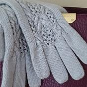 """Аксессуары ручной работы. Ярмарка Мастеров - ручная работа Вязаные перчатки """"Желанная"""". Handmade."""