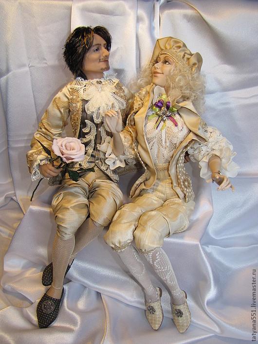 """Коллекционные куклы ручной работы. Ярмарка Мастеров - ручная работа. Купить """"Я подарю тебе эту звезду..."""". Handmade."""