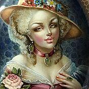 Украшения ручной работы. Ярмарка Мастеров - ручная работа Дева с розой. Handmade.
