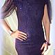 Платья ручной работы. Платье валяное Фиолетовый сон. Юлия Блохина           (Wool charm). Ярмарка Мастеров. Шелковое платье, шерсть